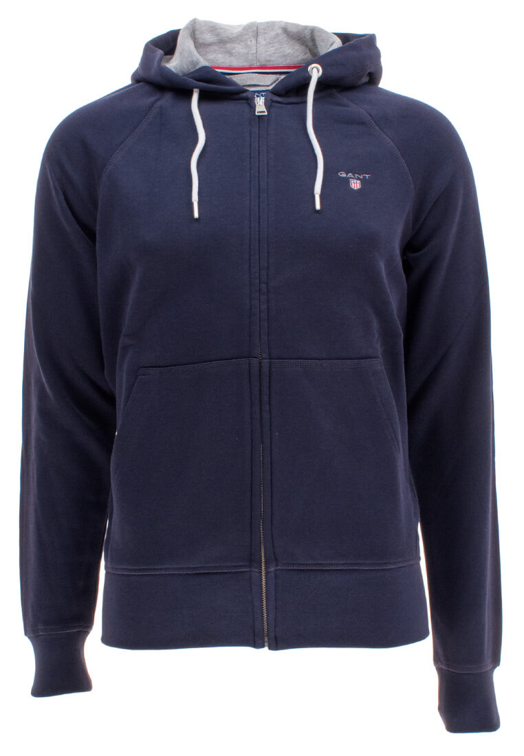 gant herren kapuzenpullover original full zip sweat hoodie. Black Bedroom Furniture Sets. Home Design Ideas