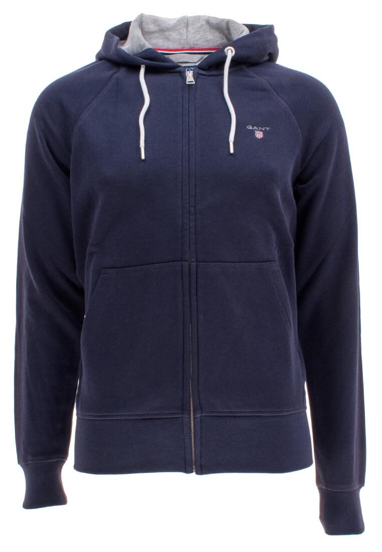 gant herren kapuzenpullover original full zip sweat hoodie. Black Bedroom Furniture Sets. Home Design Ideas