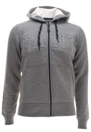 Gant Herren Strickjacke mit Kapuze Full Zip Sweat Hoodie 001