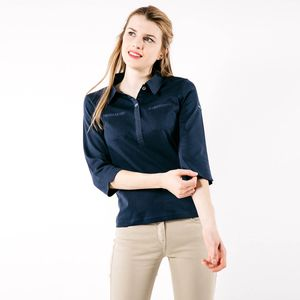 Saint James Damen Polo Blusenshirt 3/4 Arm Sophia – Bild 1
