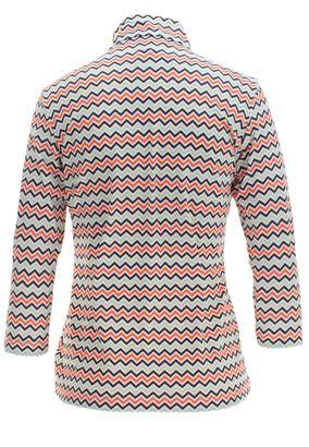 Saint James Damen Langarm Shirt mit Reißverschluss Emilie – Bild 2