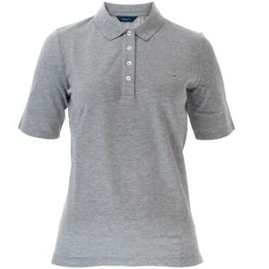 Gant Damen Poloshirt The Original Pique Unifarben – Bild 11