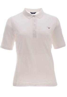 Gant Damen Poloshirt The Original Pique Unifarben – Bild 1
