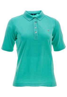Gant Damen Poloshirt The Original Pique Unifarben – Bild 1