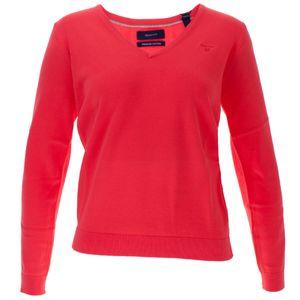 Gant Damen Baumwoll Pullover mit V Ausschnitt – Bild 7
