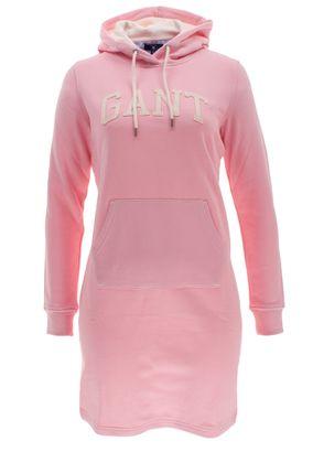 Gant Damen Kapuzenkleid Hoodie Dress – Bild 5