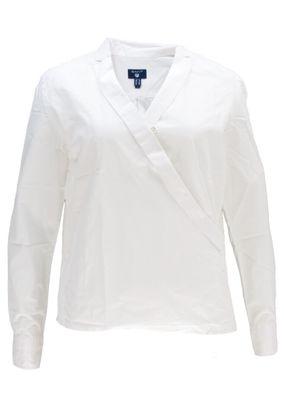 Gant Damen Langarm Wickelbluse Bluse Wrap Shirt – Bild 1