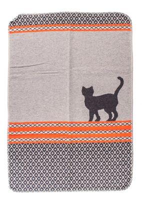 David Fussenegger Haustierdecke Katze gemustert, 70x90 cm, Farbe filz