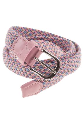 Alberto Damen Gürtel Multicolor Narrow Braided