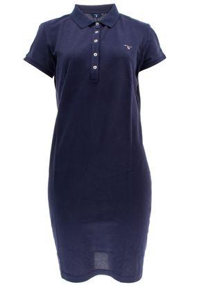 Gant Damen Polokleid Original Pique SS Dress – Bild 1