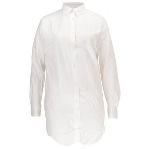 Gant Damen Bluse Pinpoint Oxford Long Shirt – Bild 1