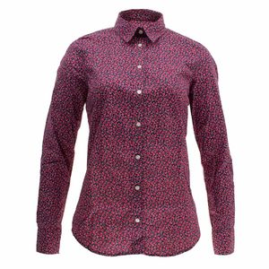 Gant Damen Bluse Blumenmuster October Floral Stretch – Bild 4
