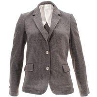 Gant Damen Blazer Herringbone Jersey 001