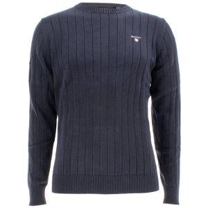 Gant Herren Pullover Cotton Rib Crew – Bild 1