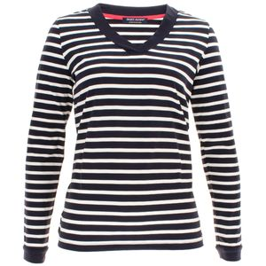 Saint James Damen Pullover Beauvoir V Ausschnitt – Bild 1