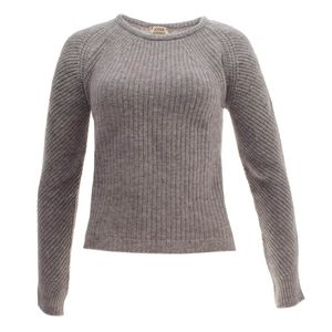 William Lockie Damen Pullover Collette Crew Geelong-Wolle – Bild 1