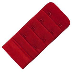 Miss Perfect Wow 2 Go BH Verlängerung 2 Haken 3,8 cm Breite Rot – Bild 2