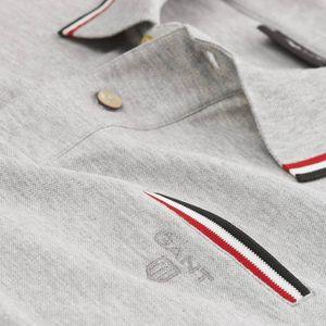 Gant Herren Poloshirt kurzarm 3-farbig Tipping Pique Rugger – Bild 5
