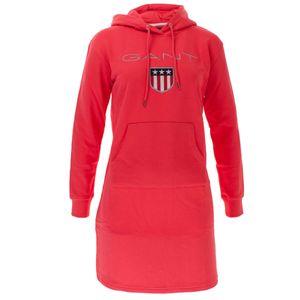 Gant Damen Kapuzenkleid Shield Hoodie Dress – Bild 5
