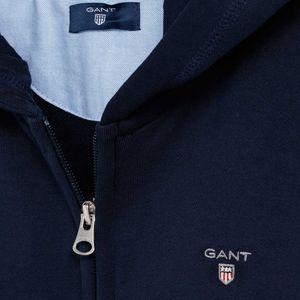 Gant Kinder Unisex Full Zip Kapuzenjacke Sweat Hoodie – Bild 3