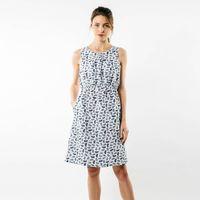 Saint James Damen Kleid Lucie mit Printmotiv Palmenblätter 001
