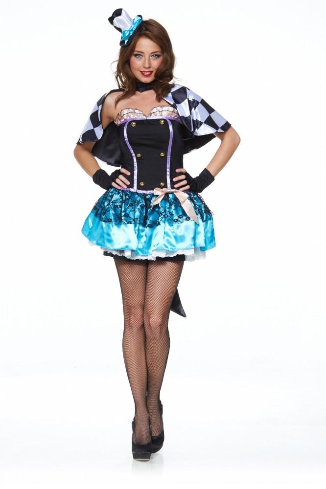 Damen Kostum Hutmacher Deluxe Alice Im Wunderland Mad Hatter Kostume