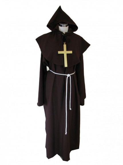 Priester-Kostüm Pater Ralf - Top Qualität