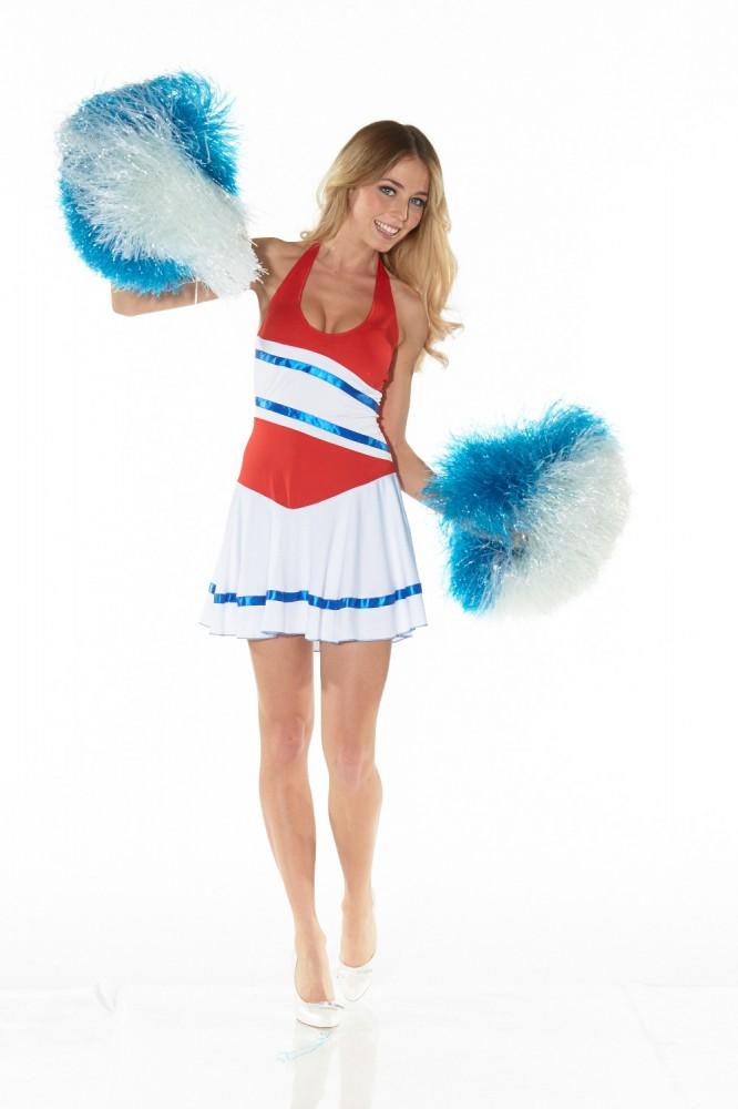 Kostum Sexy Cheerleader Gr 36 38 Kostume Accessoires