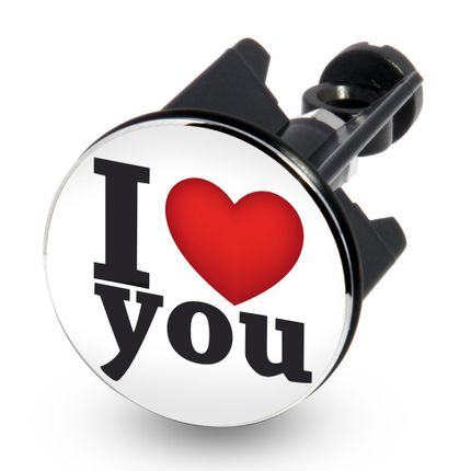 Waschbecken-Stöpsel Excenter-Stopfen - I LOVE YOU