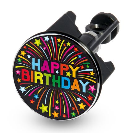 Design Waschbecken-Stöpsel Excenter-Stopfen - HAPPY BIRTHDAY