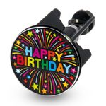 Design Waschbecken-Stöpsel Excenter-Stopfen - HAPPY BIRTHDAY 001