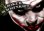 Profi-Schminkset JOKER MAKEUP KIT 001