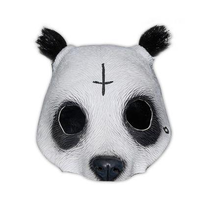 Originalgetreue Panda-Maske in Lebensmittelqualität