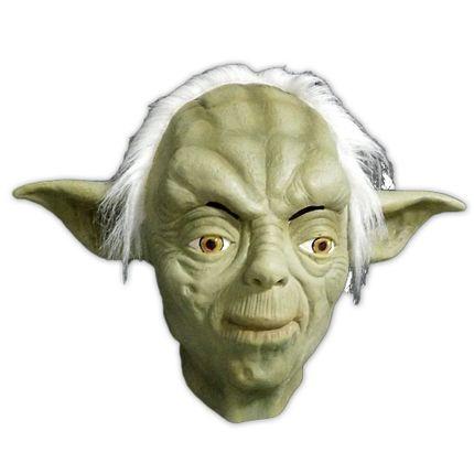 Hochwertige Latex-Maske YODA