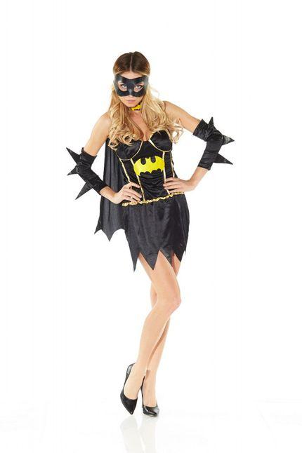 Sexy Fledermaus Girl Kostüm Gr. 36 - Modell 2