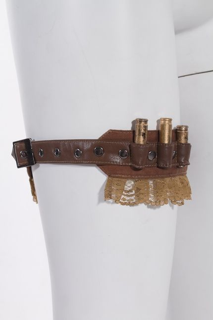Steampunk Munitions-Strumpfband – Bild 2