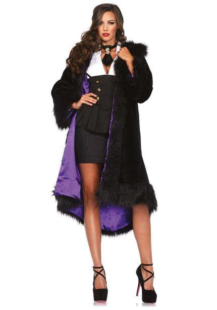 Damen-Kostüm Leg Avenue - Mafia Molly