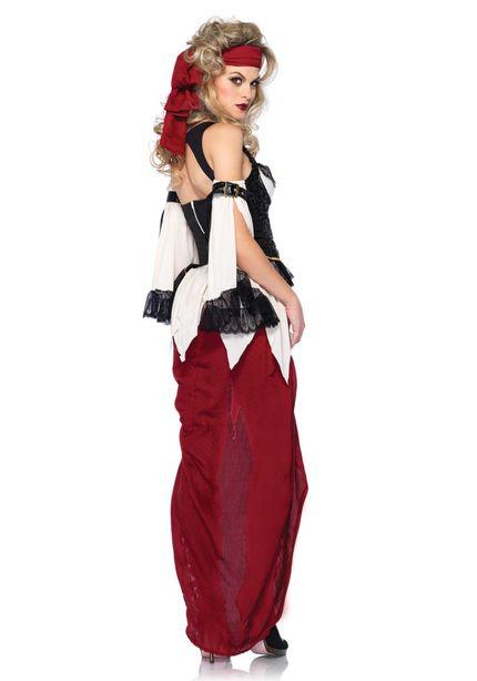 Damen-Kostüm Leg Avenue - Piratin – Bild 2