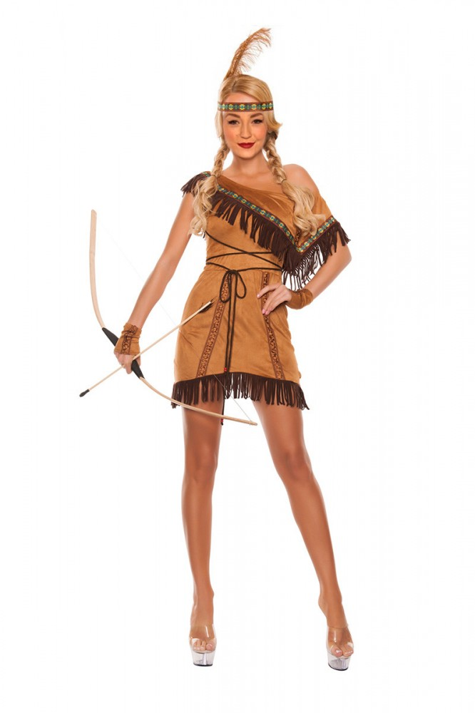One Shoulder Indianer Kostum Dream Catcher Kostume Accessoires