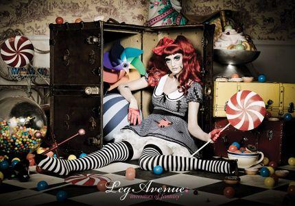 Damen-Kostüm Leg Avenue - Aufziehpuppe  – Bild 5
