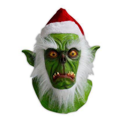 Hochwertige Latex-Maske - Der Grinch