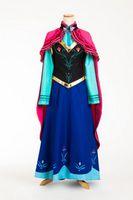 Super Deluxe Kostüm Eiskönigin Frozen Anna auf Reisen - Modell 1 001