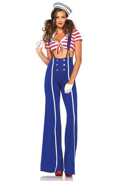 Damen Kostüm Leg Avenue - Ship Shape Sailor – Bild 1