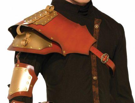 Schulter Rüstung für Steampunk Krieger