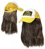 Trucker Kappe mit Haaren 001