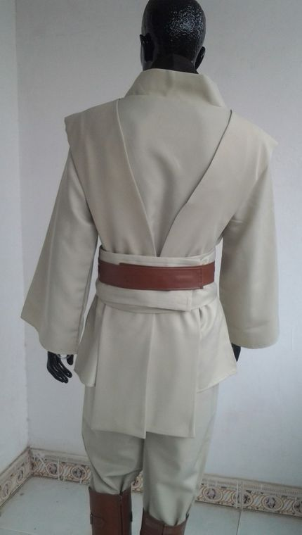 Deluxe Star Wars HERREN KOSTÜM Obi-Wan Kenobi Komplettset 9-teilig – Bild 4