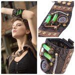 Steampunk Armband von RQ-BL mit Kompass