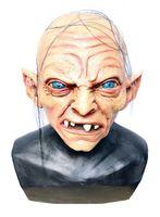 Hochwertige Latex-Maske in Lebensmittelqualität - Gollum 001