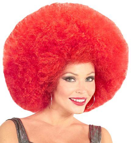 Übergroße Afro Locken Perücke für Damen oder Herren – Bild 9
