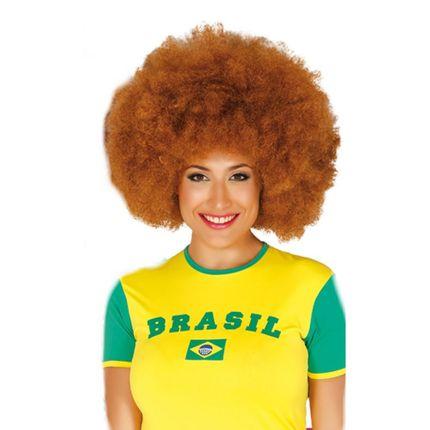 Große Afro-Perücke für Damen und Herren Locken Hippie Clown  – Bild 4